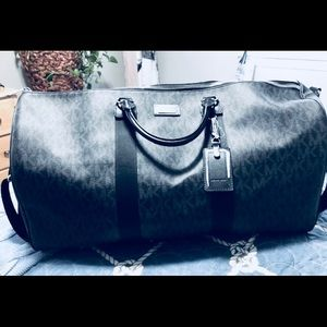 Michael Kors Black Travel Duffle